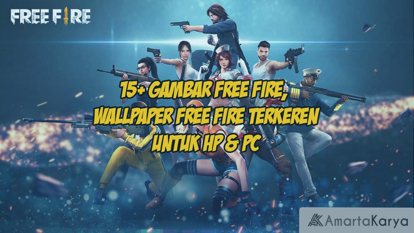 15 gambar free fire wallpaper free fire terkeren untuk hp pc 1