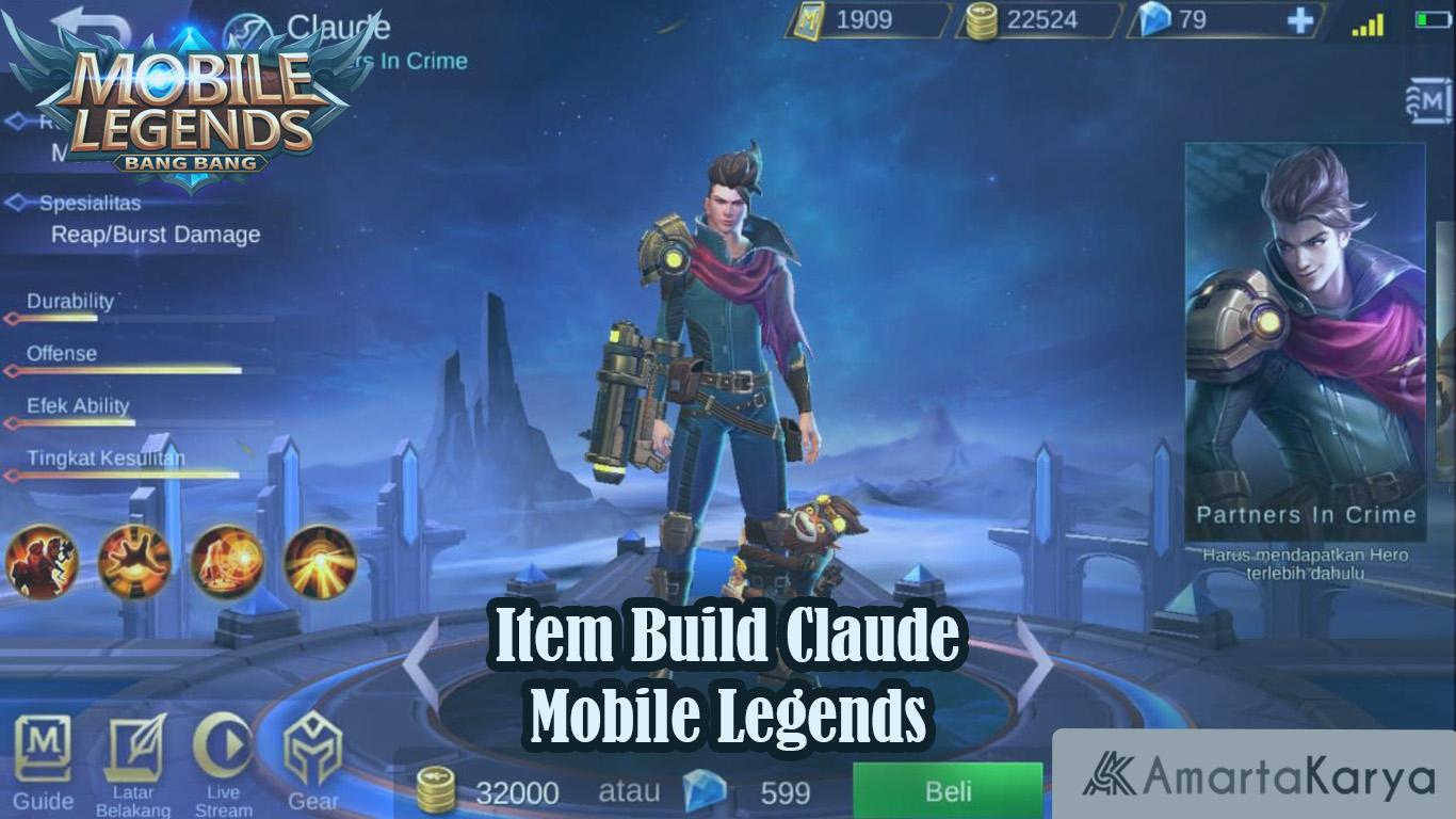 Item Build Claude